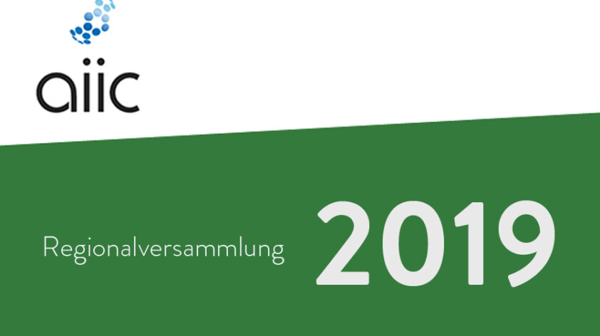 Regionalversammlung des Internationalen Verbands der Konferenzdolmetscher (aiic)